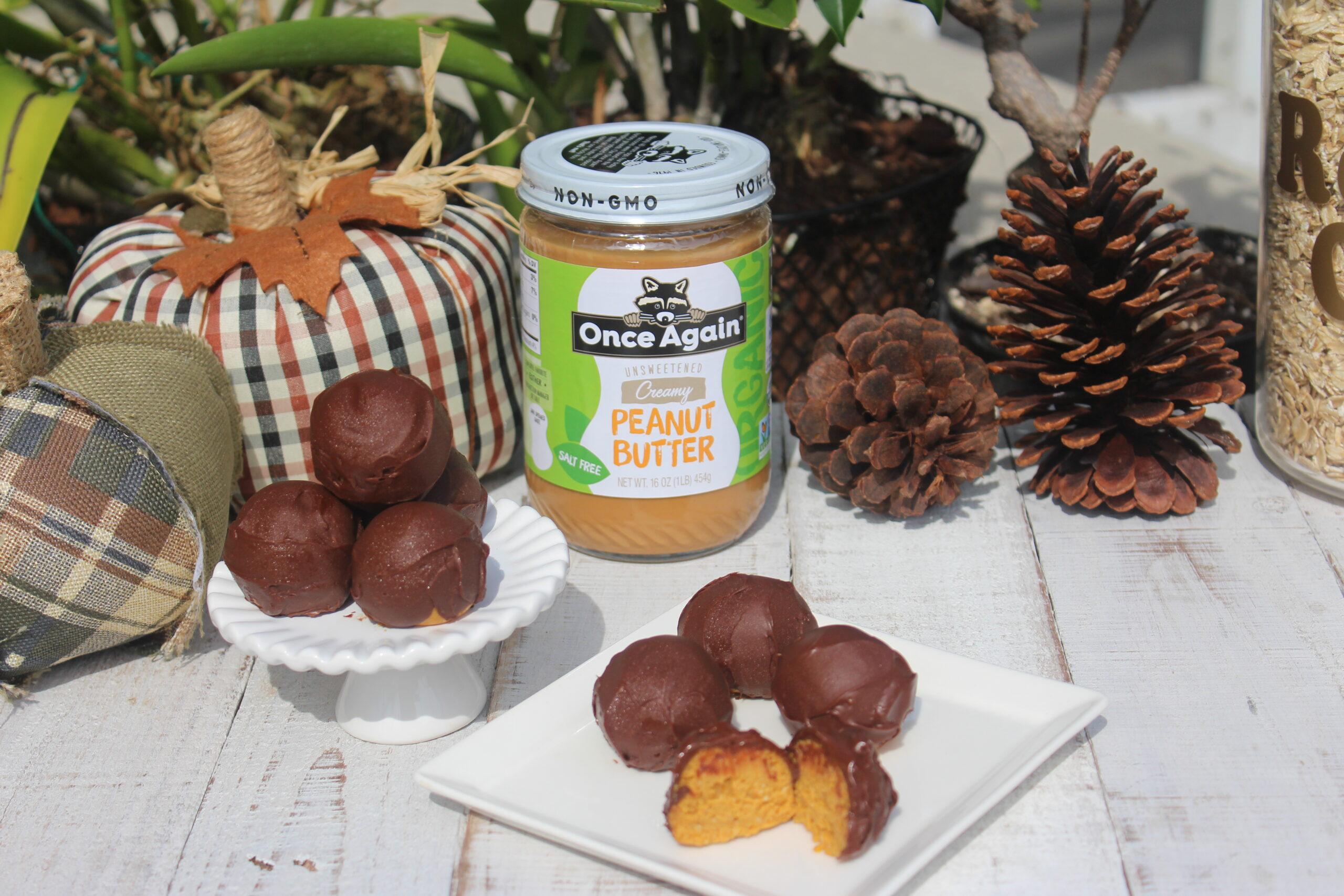 peanut butter pumpkin truffle