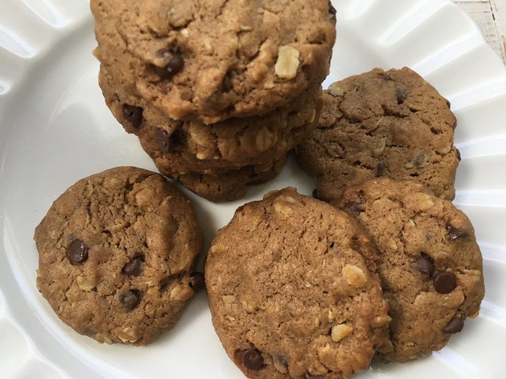 Oatmeal Chocolate Chip Sunflower Cookies