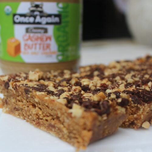 Caramel Cookie Bar