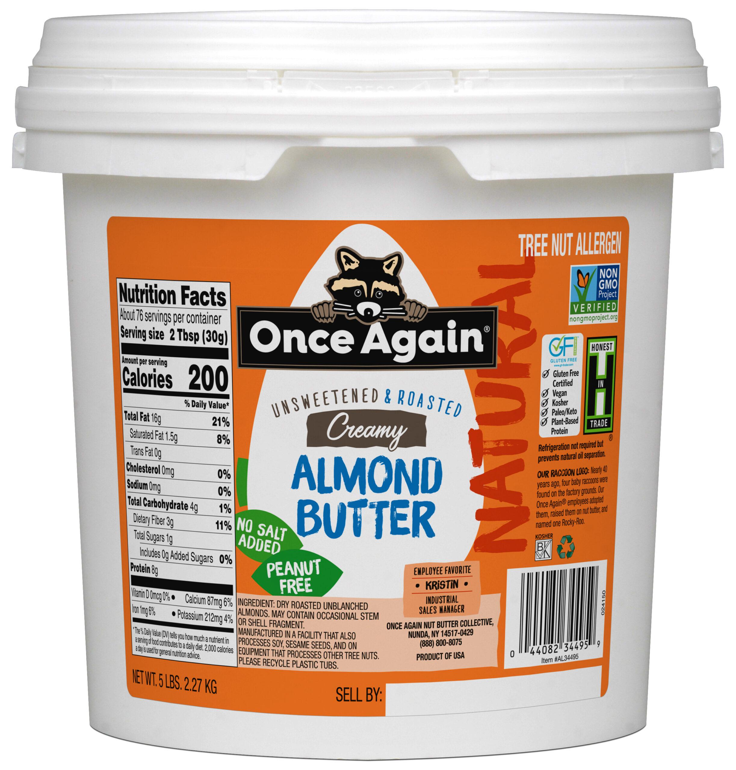 Bulk almond butter